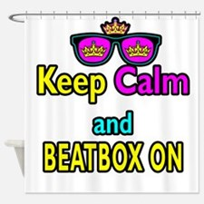 Crown Sunglasses Keep Calm And Beatbox On Shower C
