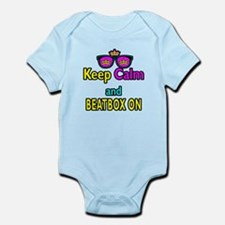 Crown Sunglasses Keep Calm And Beatbox On Infant B