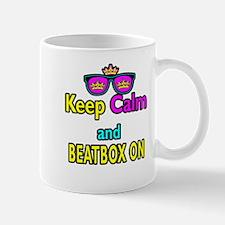 Crown Sunglasses Keep Calm And Beatbox On Mug