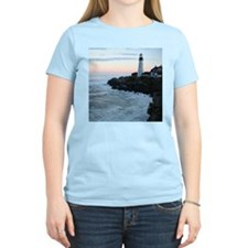 Portland Head Lighthouse at Sunset T-Shirt