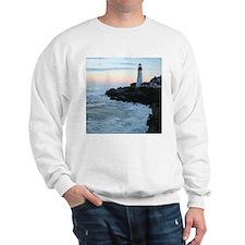 Portland Head Lighthouse at Sunset Sweatshirt