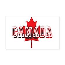 Canada Logo Car Magnet 20 x 12