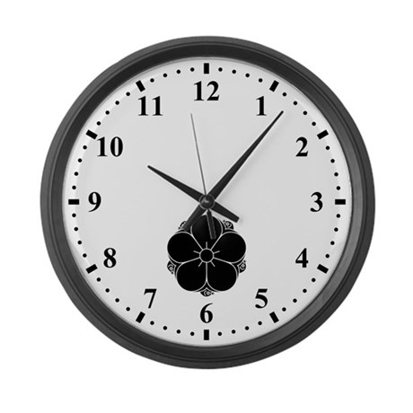 Tanakura ume Large Wall Clock