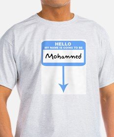 Pregnant: Mohammed Ash Grey T-Shirt