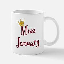 Miss January Small Small Mug