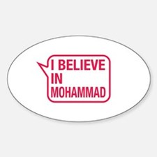 I Believe In Mohammad Decal