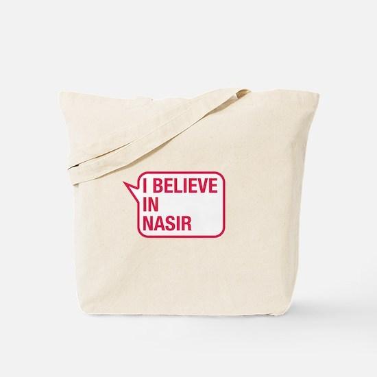 I Believe In Nasir Tote Bag