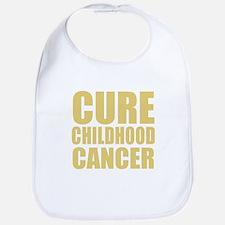 CURE CHILDHOOD CANCER Bib