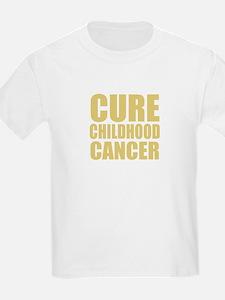CURE CHILDHOOD CANCER Kids T-Shirt