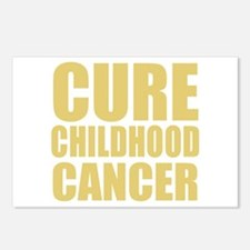 CURE CHILDHOOD CANCER Postcards (Package of 8)