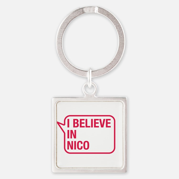 I Believe In Nico Keychains