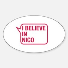 I Believe In Nico Decal