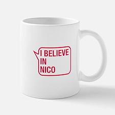 I Believe In Nico Small Small Mug