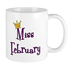 Miss February Coffee Mug