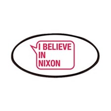 I Believe In Nixon Patches