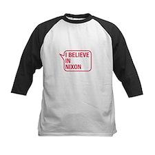 I Believe In Nixon Baseball Jersey