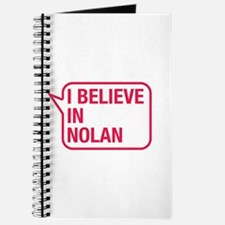 I Believe In Nolan Journal