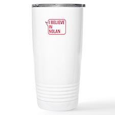 I Believe In Nolan Travel Mug