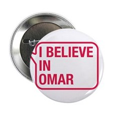 "I Believe In Omar 2.25"" Button (100 pack)"