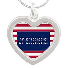 JESSE Silver Heart Necklace