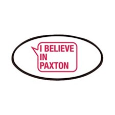 I Believe In Paxton Patches