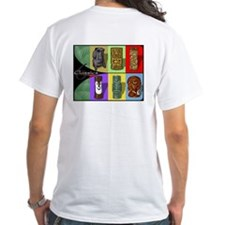 6 classic Tiki mugs T-shirt