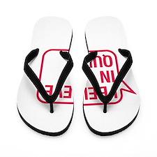I Believe In Quinn Flip Flops