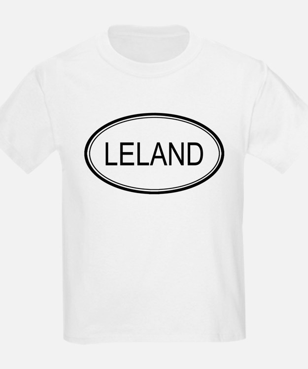 Leland Oval Design Kids T-Shirt