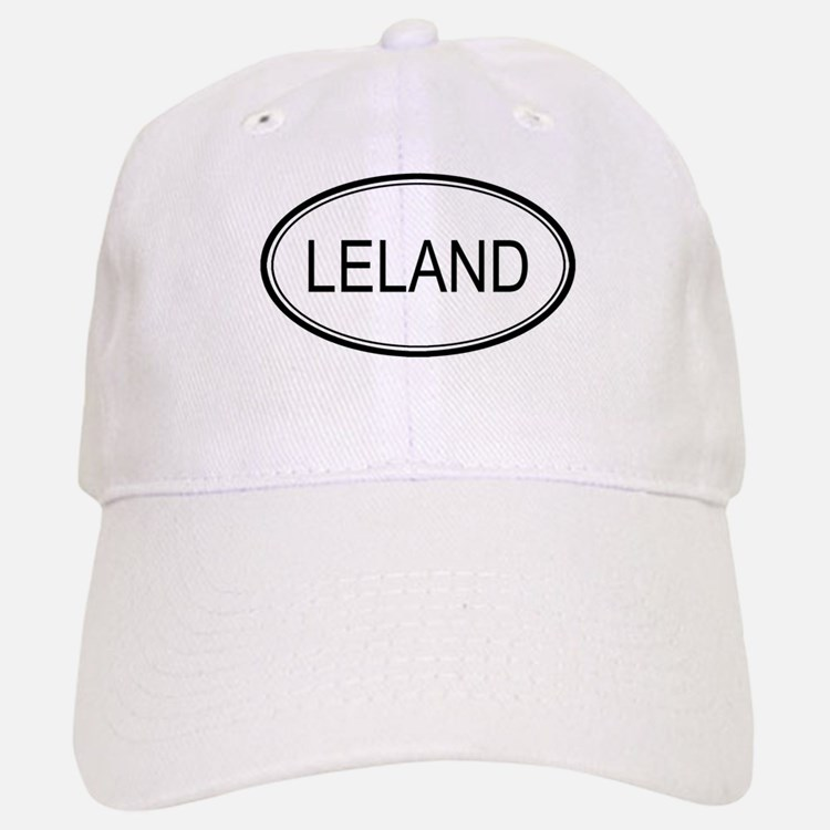 Leland Oval Design Baseball Baseball Cap