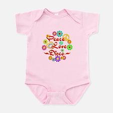Peace Love Disco Infant Bodysuit