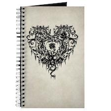 Ornate Gothic Heart Journal