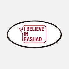 I Believe In Rashad Patches