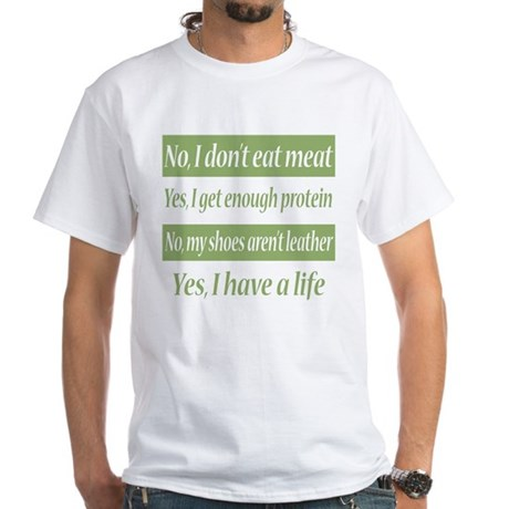 No I Dont Eat Meat T-Shirt