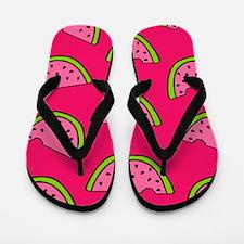 'Watermelons' Flip Flops
