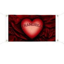 Frangible Heart Banner