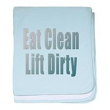 Eat Clean... baby blanket