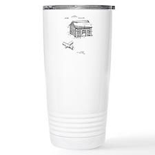 Toy Log Cabin Travel Mug