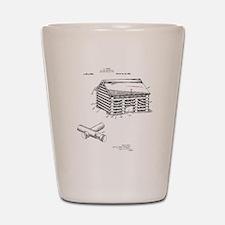 Toy Log Cabin Shot Glass
