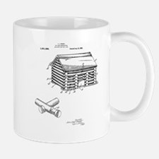 Toy Log Cabin Mug