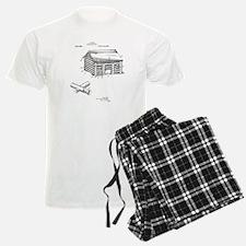 Toy Log Cabin Pajamas