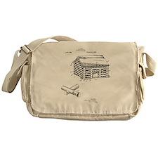 Toy Log Cabin Messenger Bag