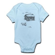 Toy Log Cabin Body Suit