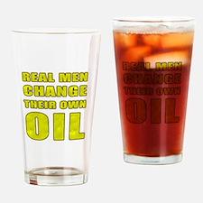 Oil Change Drinking Glass