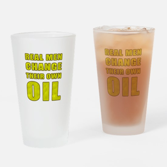 Oil Change Drinking Glass