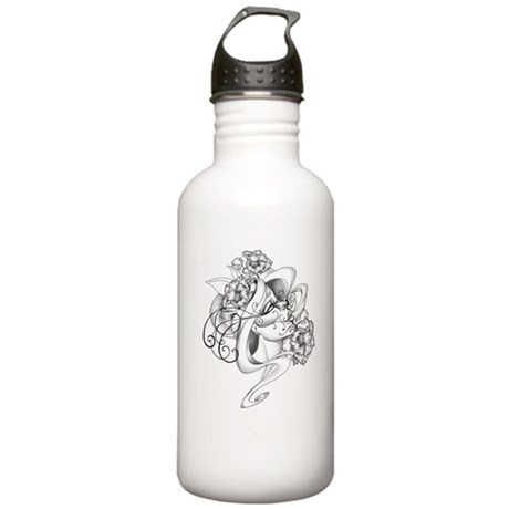 life and death Water Bottle