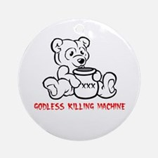 Killing Machine Ornament (Round)