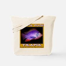 Feed The World Tilapia Tote Bag