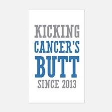 Cancers Butt Since 2013 Decal