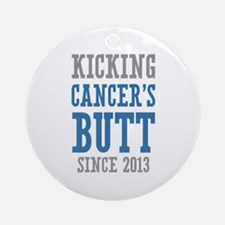 Cancers Butt Since 2013 Ornament (Round)