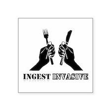 Ingest Invasive Sticker